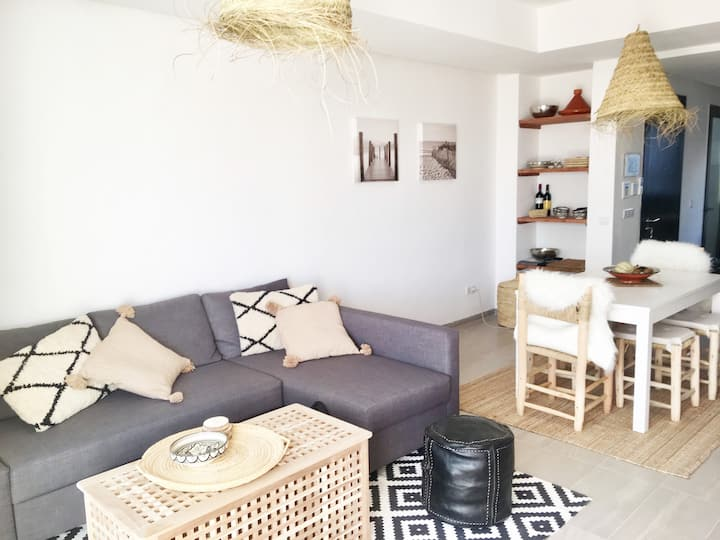 Cosy apartment Taghazout Bay with high speed wifi!