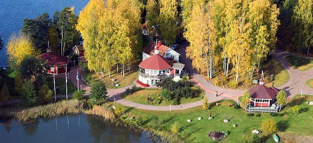 Järven rannalta 36m2 huoneisto nro 7 mukavuuksilla