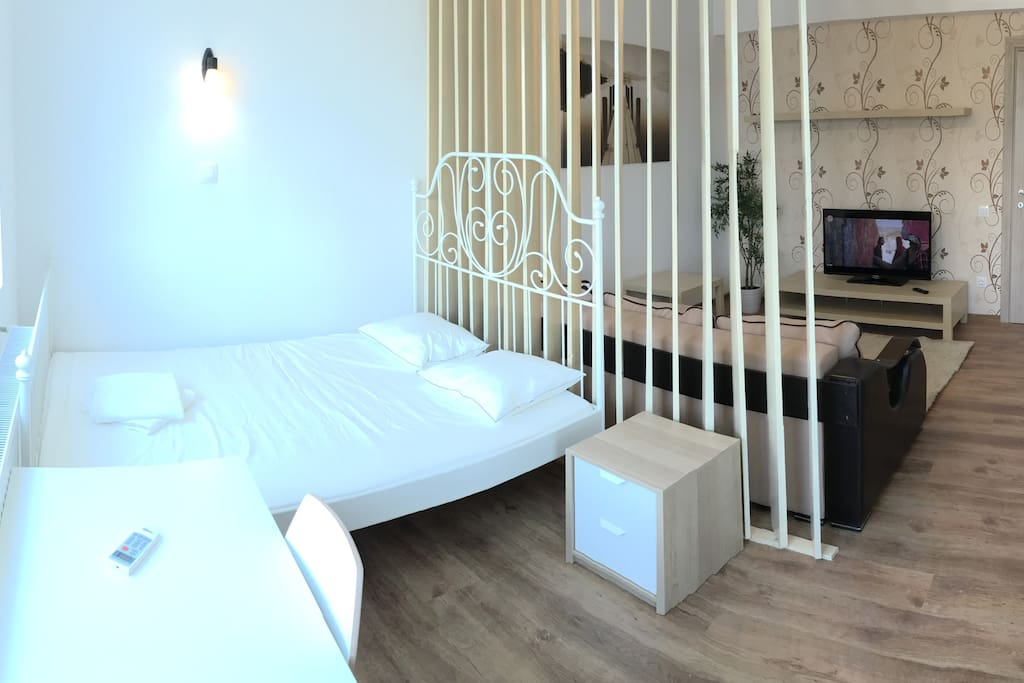 Luxury studio 52 apartments for rent in bucharest for Bucharest apartments