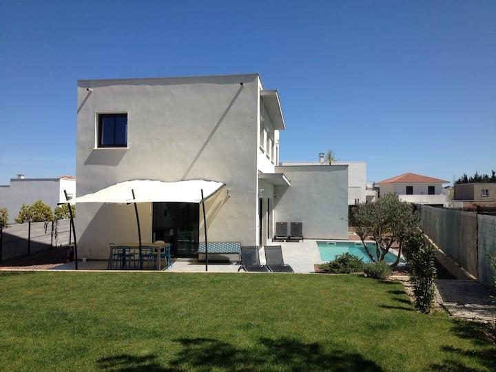 Tres Belle Villa Contemporaine Proche Montpellier Maisons A Louer A Jacou Occitanie France