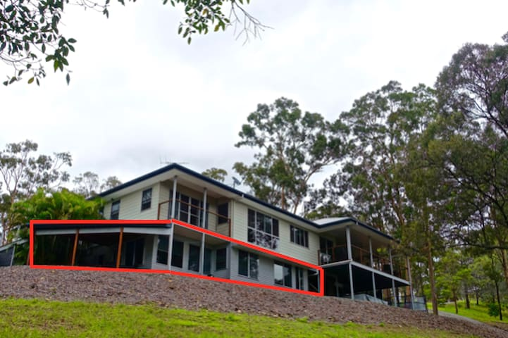 Quiet retreat between Gold Coast and Brisbane - Ormeau Hills - Leilighet