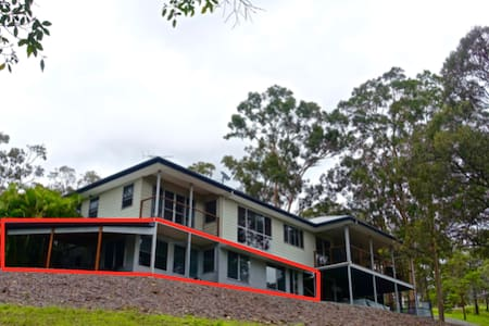 Quiet retreat between Gold Coast and Brisbane - Ormeau Hills