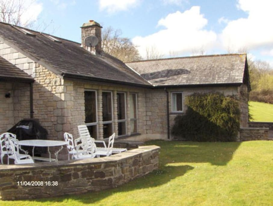 BBQ and Patio with beautiful, peaceful countryside views
