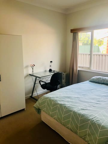 Secure, comfortable bedroom in Applecross