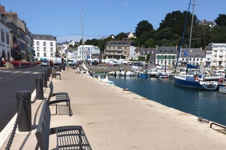 au rythme des marées sur le port d'Audierne