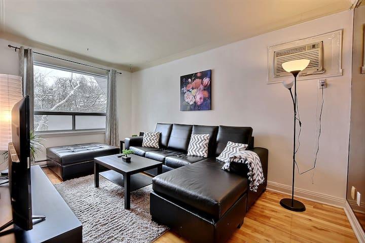 Bel appartement meublé - Métro ligne verte