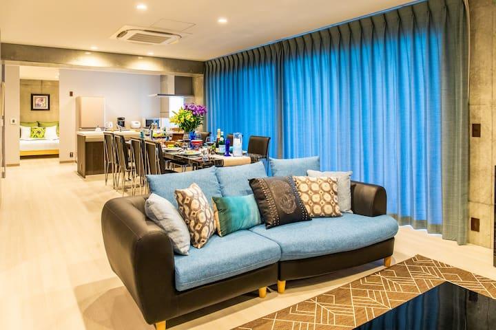 Chatan Luxurious Condominium Araha top floor 6F