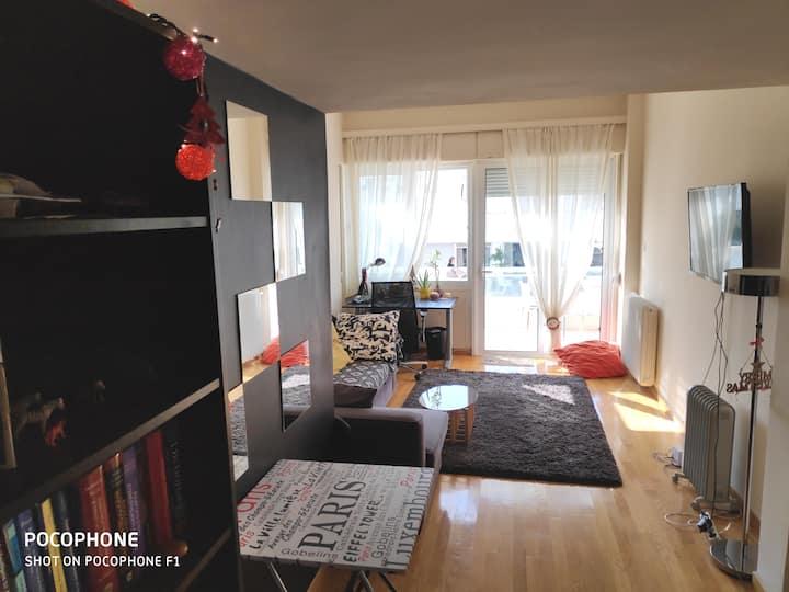 Cosy renovated apartment near metro Panormoy!