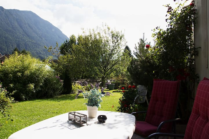 Traumblick in die Berge - Oberau - Appartement