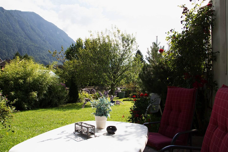 Ausblick von Terrasse - View