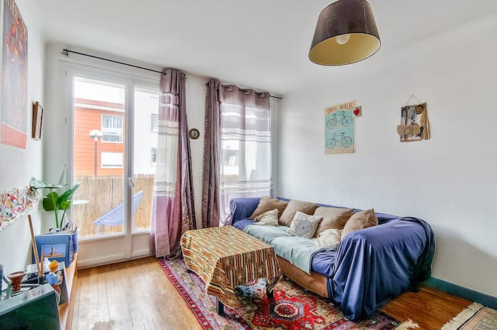 🎔 Cosy apartment with terrace - Toulouse 🎔