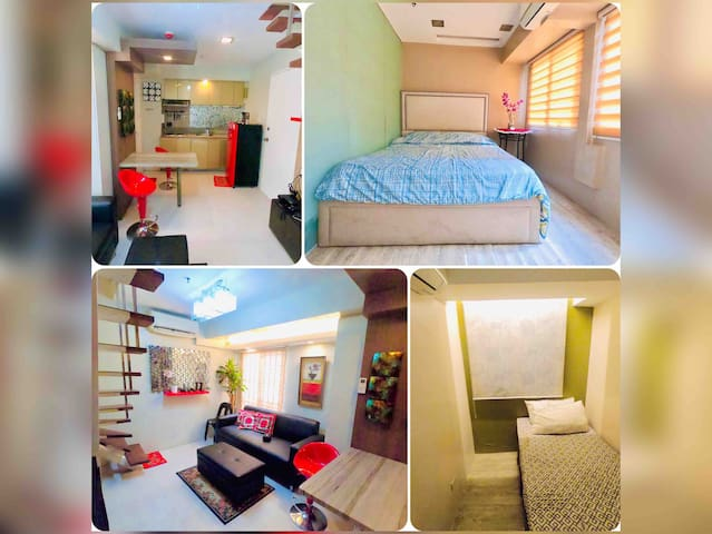 3 Fort Victoria BGC Loft Unit w/ Parking & Netflix
