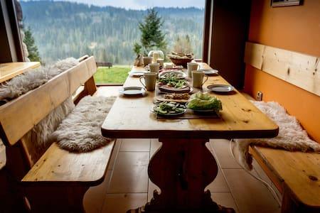 Kwatera uKasi - pokój 4osobowy z widokiem. - Bed & Breakfast