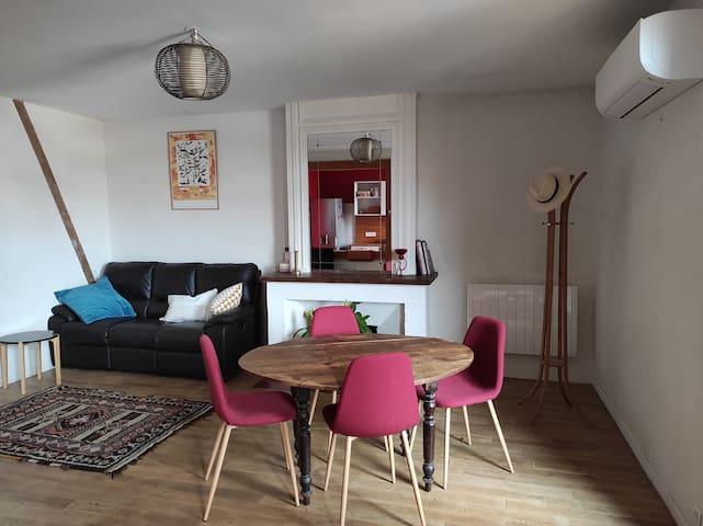 Appartement de caractère idéalement situé