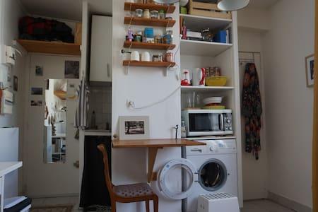 Studio cosy - Père Lachaise (Ménilmontant)