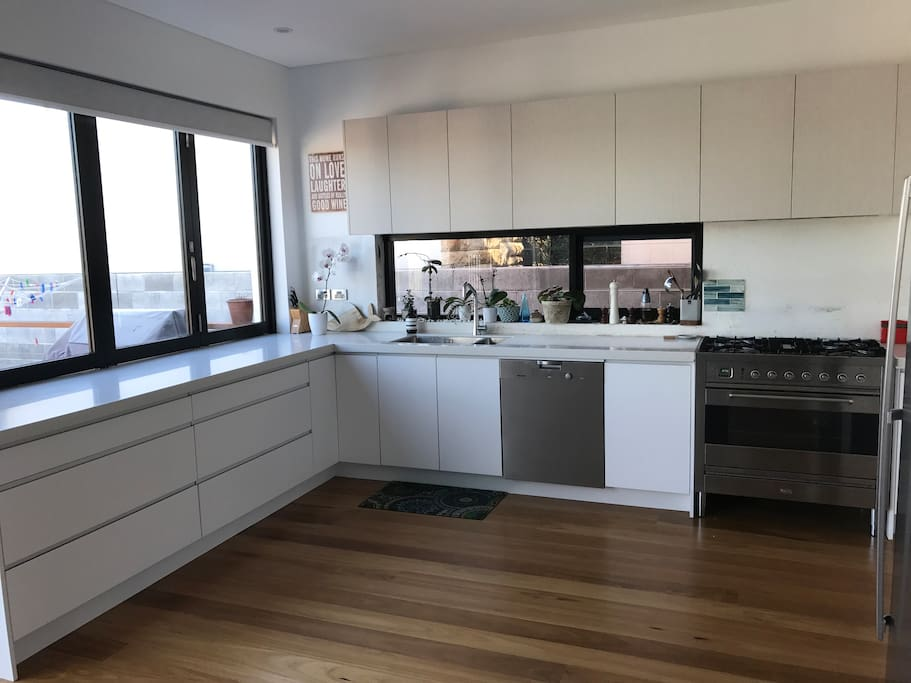 Open plan Kitchen where you are welcome to cook up a storm.