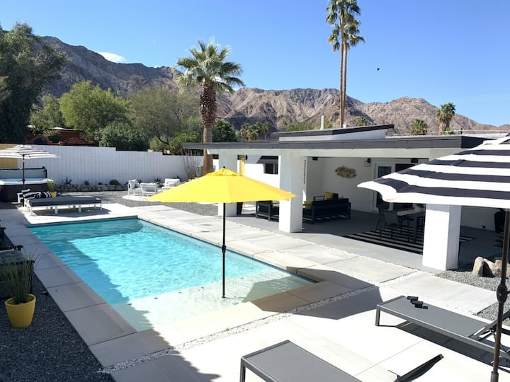 Lux Mid Century La Quinta Home Heated Pool/Spa