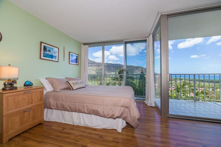 Condo with Extraordinary Views!!!! - Waiʻanae - Lägenhet