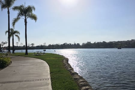 Exclusive Lake views on your walks - Mission Viejo
