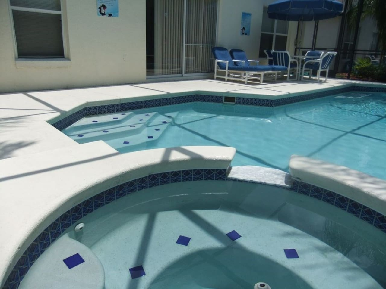 Your own pool and spa