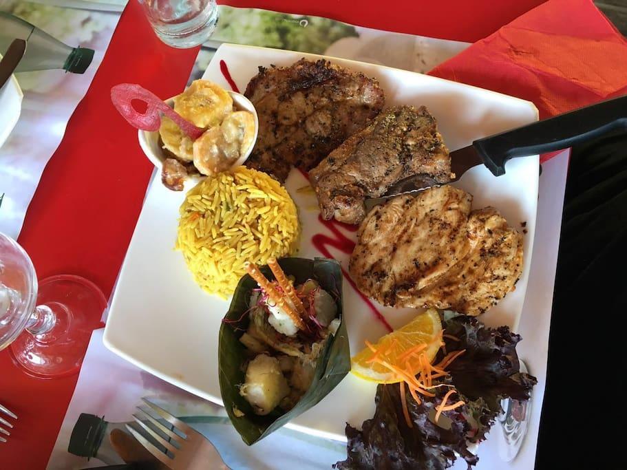 Tourisme culinaire : Repas typique créole