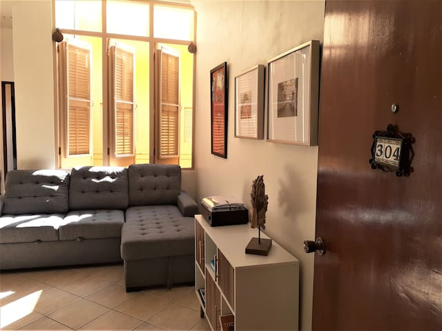 San Justo Spacious apartament walking distance