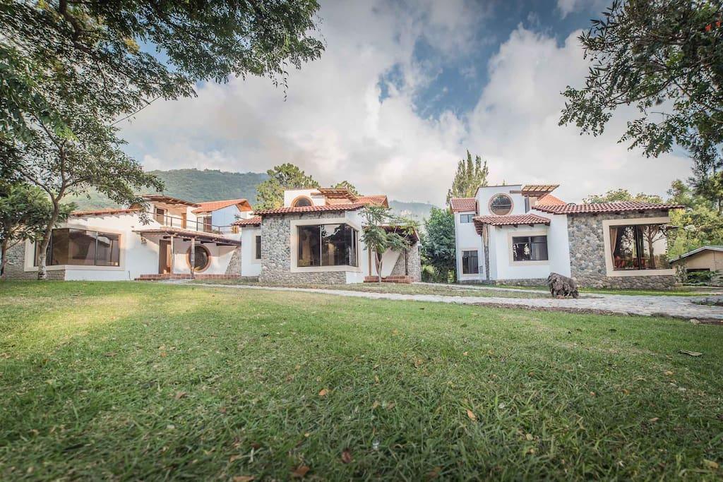 Villas 1,2 and 3.