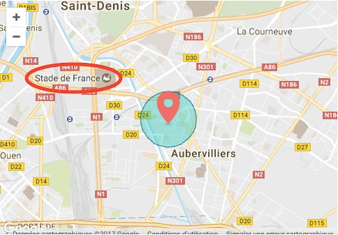 Chambre privée proche du stade de France - Aubervilliers - Casa