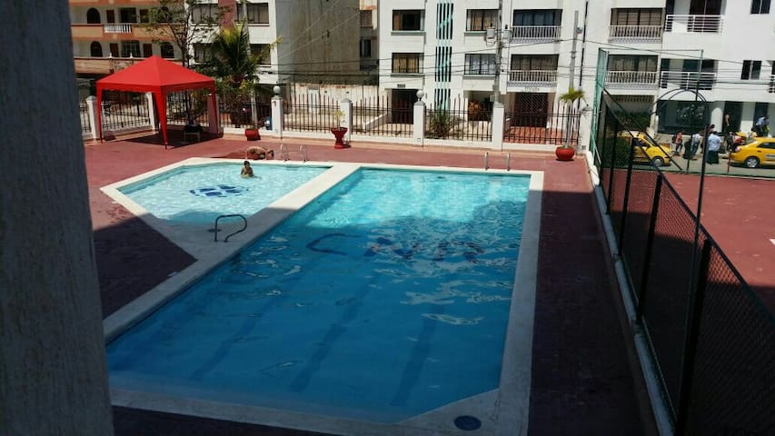 Apartment in the Rodadero - Santa Marta - Gaira - Wohnung