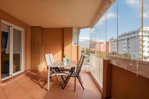 Acogedor apartamento 1 dormitorio - Parking gratis