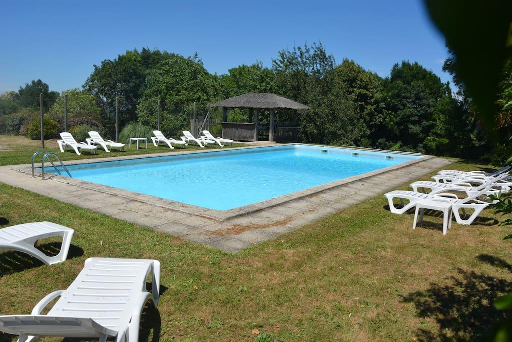 la piscine de Tartou 14mX7