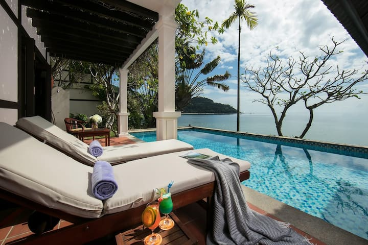Amazing SeaView Villa<Pool_Breakfast> FREE PickUp