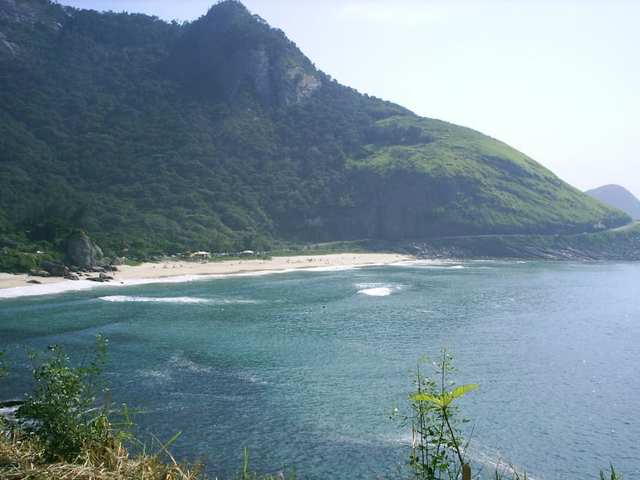 More of Prainha beach... best place to surf in town!