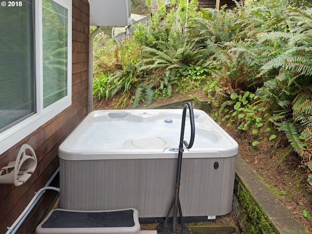 Relax the stress away with a new hot tub