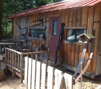 Rustic Cabin on beautiful location - Creston - Camper/RV