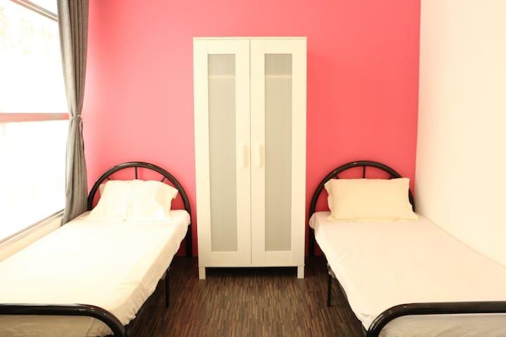 Central Town Hostel, Samarahan (Double Room) - Kota Samarahan - ホステル
