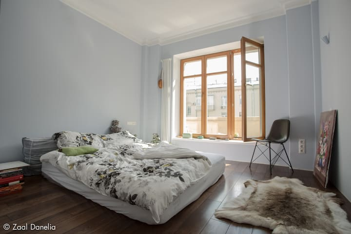 Clear Dream French Window Bedroom
