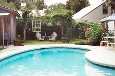 Abby's Guesthouse + Pool - Featured on HGTV - Fredericksburg - Cabin