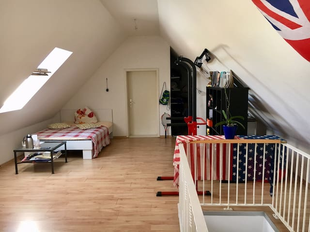 Spacious room near Sanssouci