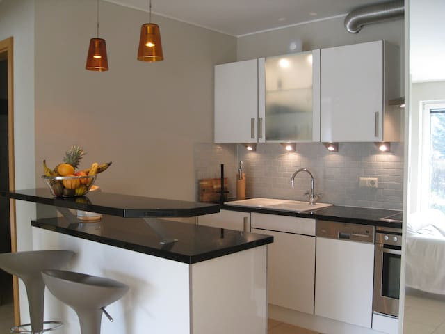 Modern 50sqm apartment with parking