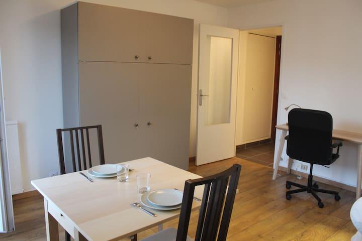 Welcome to Bruno, functional and quiet studio - Parijs - Appartement