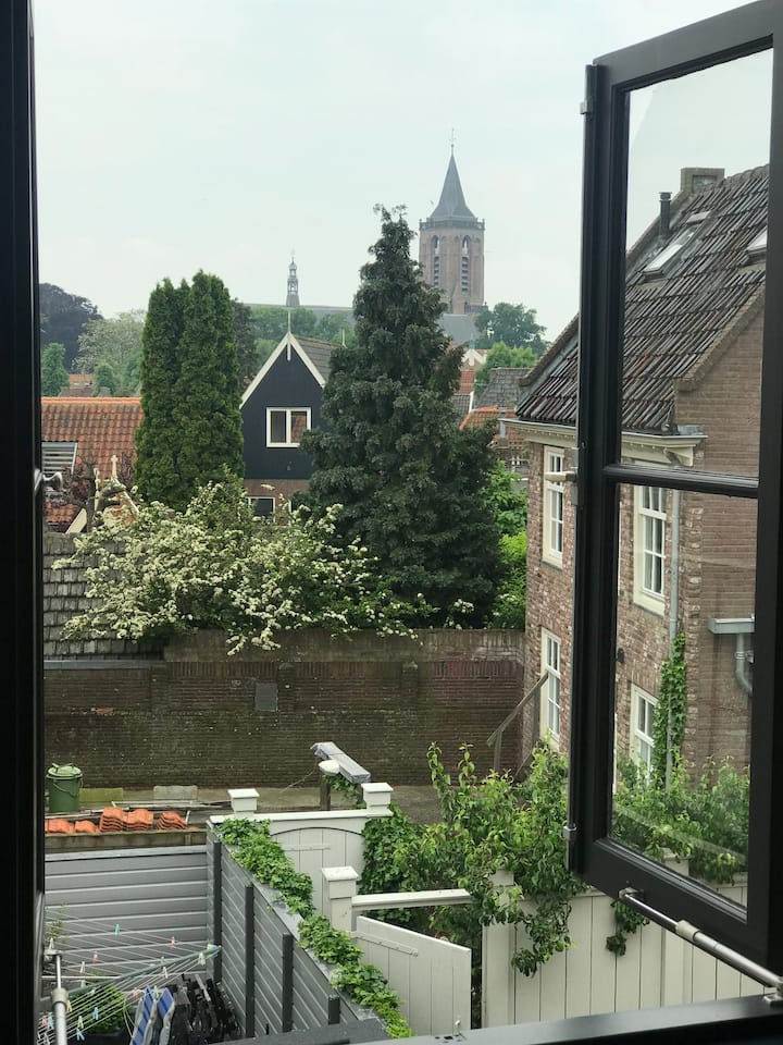 Historical, stylish appartement near Amsterdam