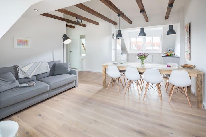 LOFT E Strandloft Zwei Norderney - Wohn- und Essbereich 1.1