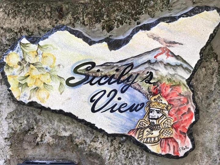 Casa vacanze Sicily's View, moderna e ricercata.