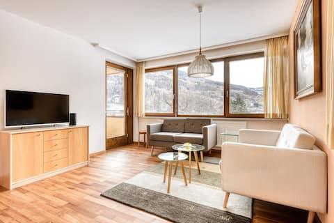 2-Zimmer Panorama Ferienwohnung Blümentin