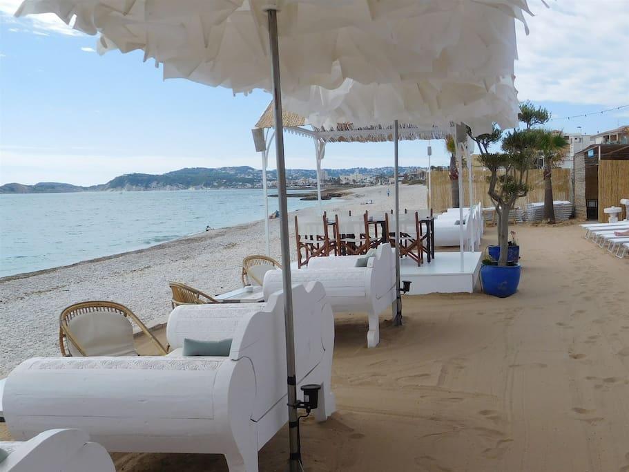 Javea, Ibiza styled beachbars