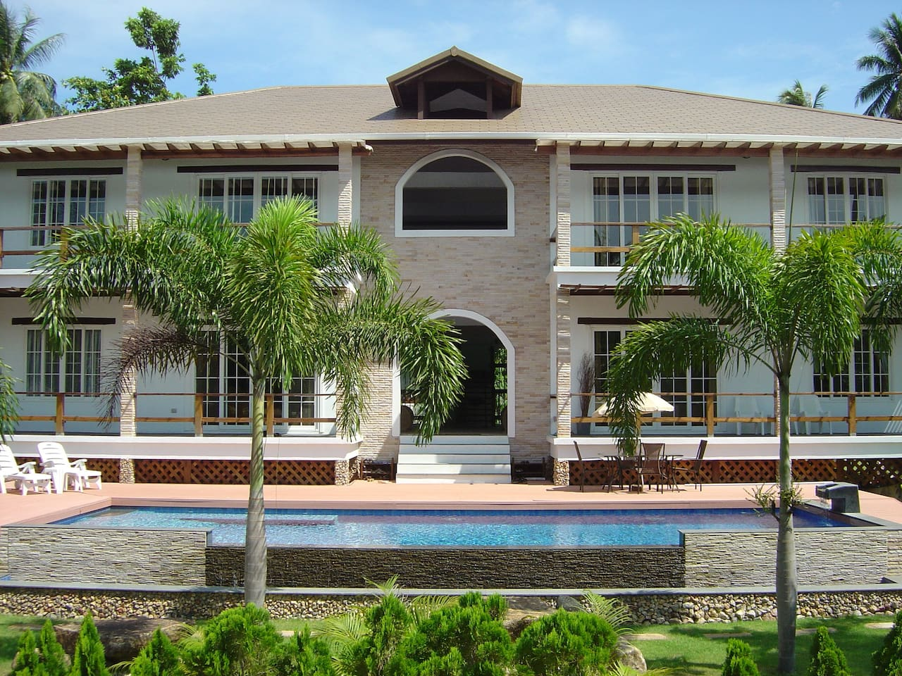 Main Entrance with Pool Deck