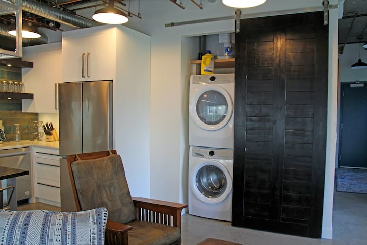Full capacity Washer and Dryer and Laundry Detergent.