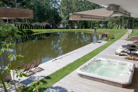 Stay in private SPA surrounded by nature - Kernavė