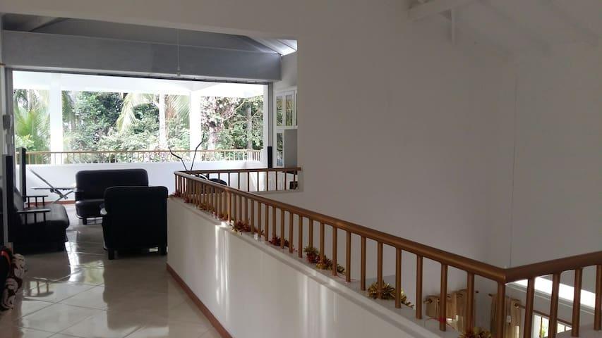 In house balcony